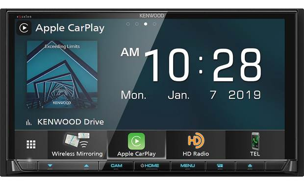 Kenwood Excelon DDX8906S Enjoy lots of ways to get your smartphone involved in your mobile entertainment