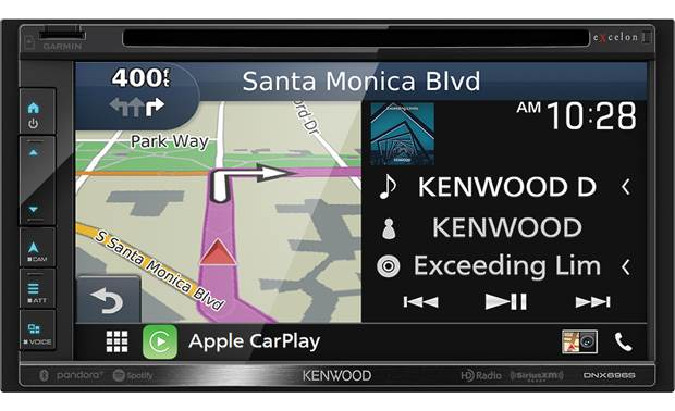Kenwood Excelon DNX696S Front