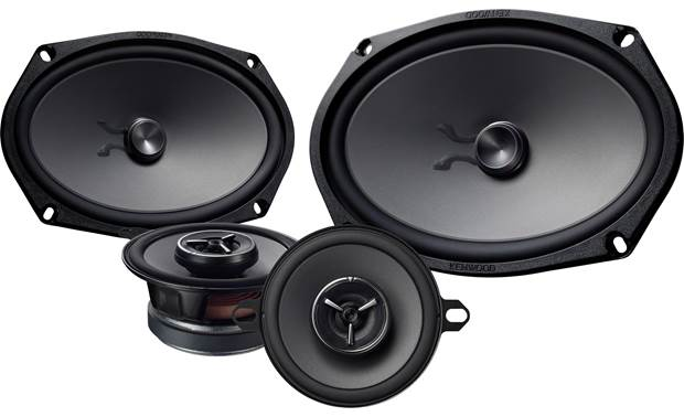 Kenwood Excelon KFC-XP6903C Get maximum impact from your music with these speakers