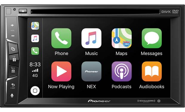 pioneer avh-1550nex the avh-1550nex supports carplay