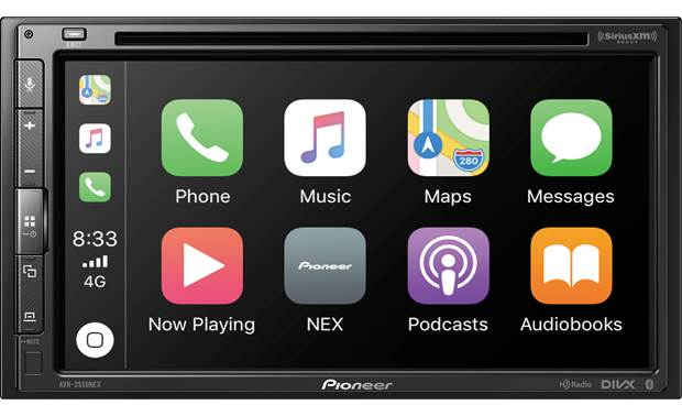 Pioneer AVH-2550NEX The AVH-2550NEX supports Android Auto and Apple CarPlay