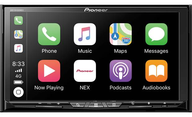 Pioneer AVH-W4500NEX DVD receiver at Crutchfield