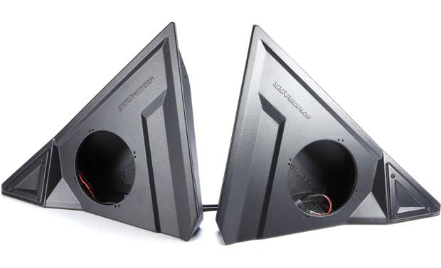 SSV Works 170-SS-F65U unloaded speaker pods