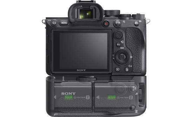 Sony VG-C4EM Back, shown attached to camera (not included)