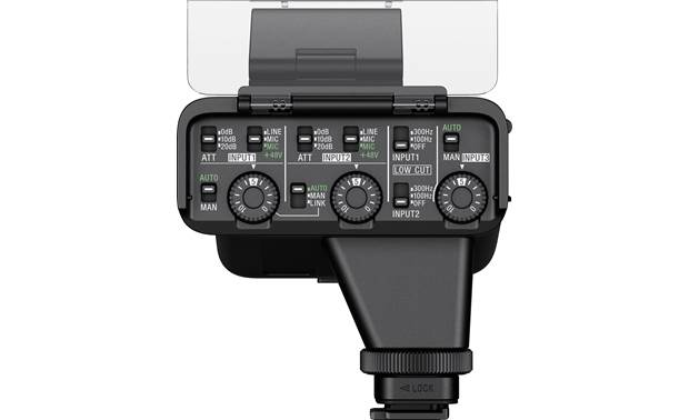 Sony XLR-K3M Precise controls built in