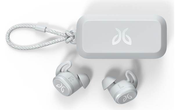 Jaybird Vista Carrying case banks up to 10 hours worth of power to charge the headphones on the go
