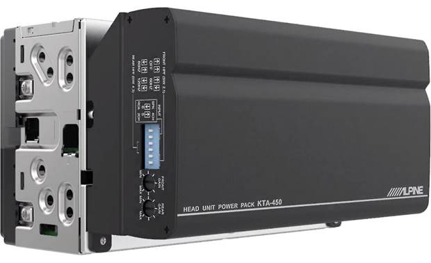 Alpine iLX-W650 and 4-channel Amp Package Other