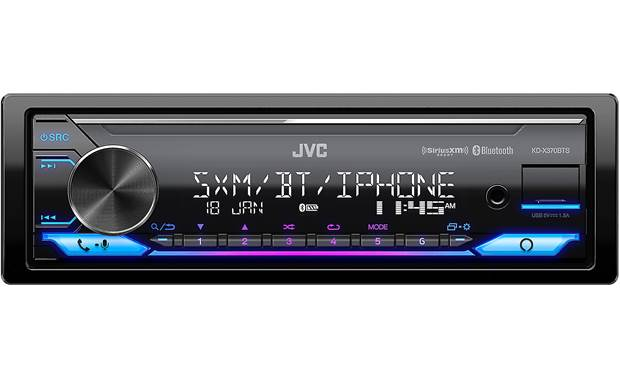 JVC KD-X370BTS Built-in Spotify makes streaming your favorite tunes totally intuitive