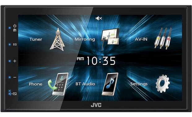 JVC KW-M150BT Add touchscreen control, Bluetooth compatibility, and Android device mirroring to your dash