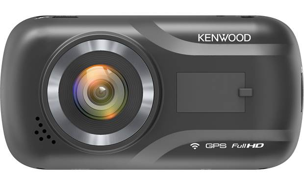 Kenwood DRV-A301W Kenwood prioritizes picture with this compact cam