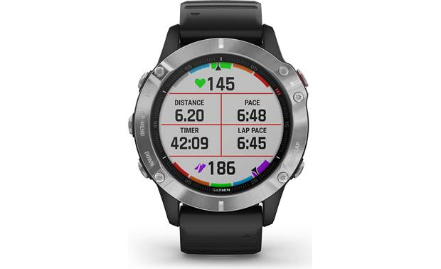 Garmin fenix 6 Customizable display fields
