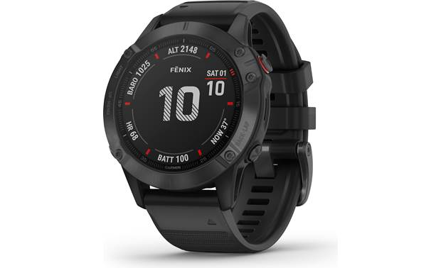 Garmin fenix 6 Pro fenix 6 Pro is a highly versatile training watch with a built-in music player