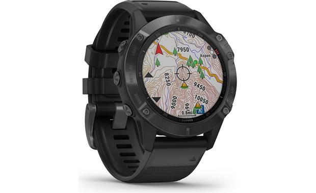 Garmin fenix 6 Pro Color topo maps