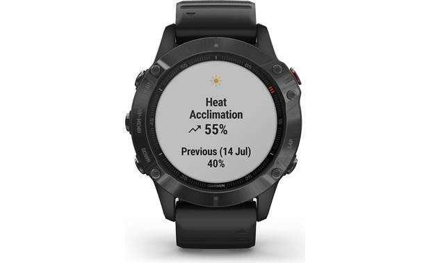 Garmin fenix 6 Pro Pulse Ox estimation