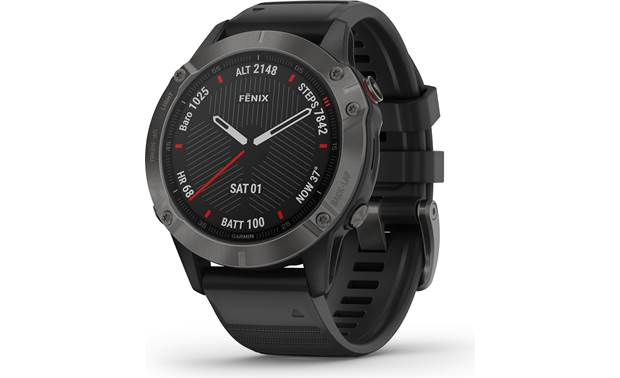 Garmin fenix 6 Sapphire Garmin's fenix 6 Sapphire is your all-in-one training partner