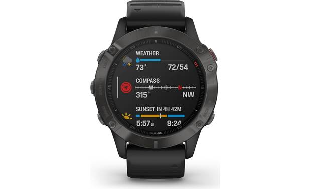 Garmin fenix 6 Sapphire Customizable display