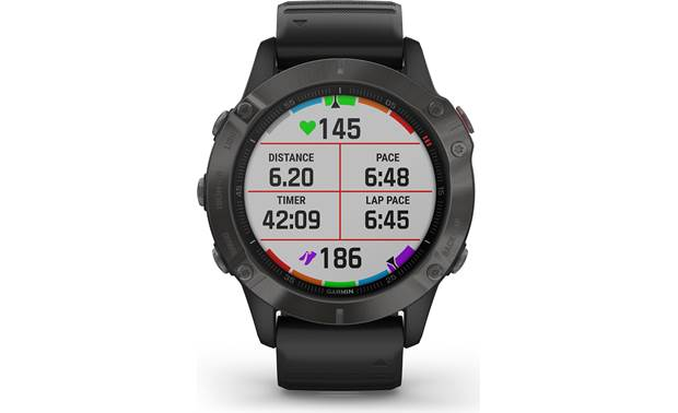 Garmin fenix 6 Sapphire Customizable display fields