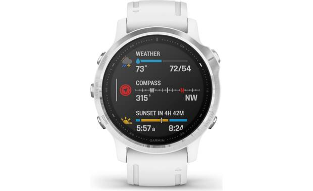 Garmin fenix 6S Customizable color display