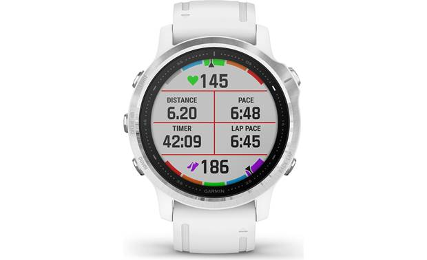 Garmin fenix 6S Customizable display fields