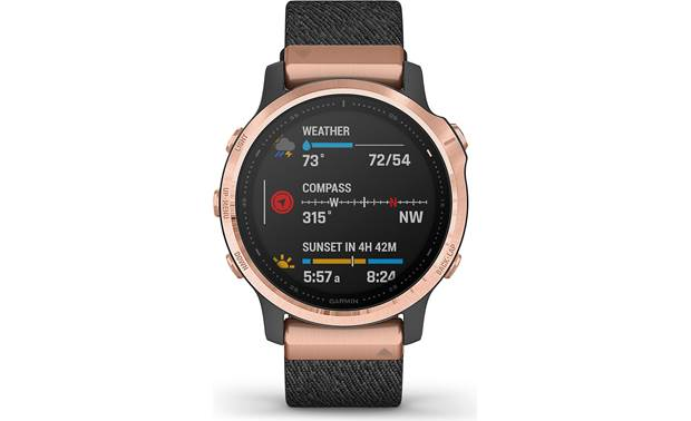 Garmin fenix 6S Sapphire Customizable display