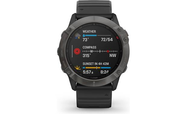 Garmin fenix 6X Sapphire Customizable display