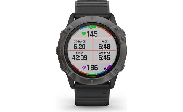 Garmin fenix 6X Sapphire Selectable display fields
