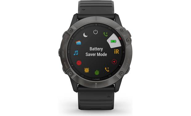 Garmin fenix 6X Sapphire Battery management