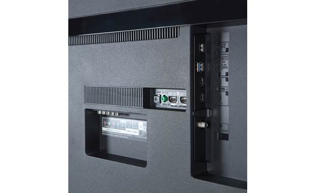 Sony XBR-75X800G Back (side-facing A/V connections)