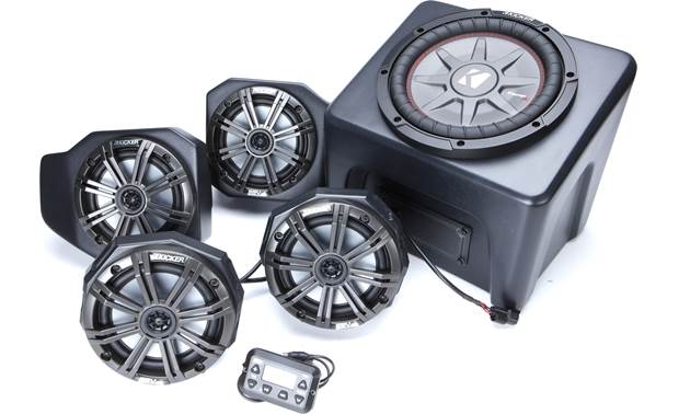 SSV Works/Kicker RG4-5K Made for the 2018-up Polaris Ranger XP1000