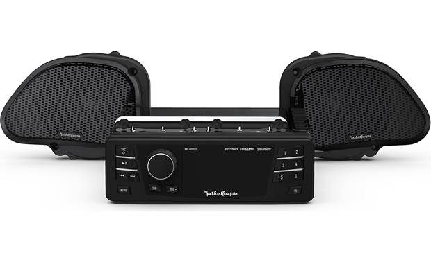 Rockford Fosgate HD9813RG-STAGE1 Front