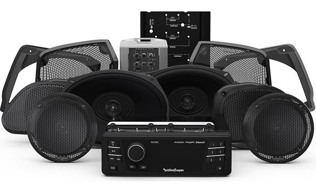 Rockford Fosgate HD9813RGU-STAGE3 Front