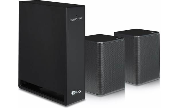 LG SPK8-S Rear Speaker Kit The kit connects wirelessly to your sound bar for flexible placement
