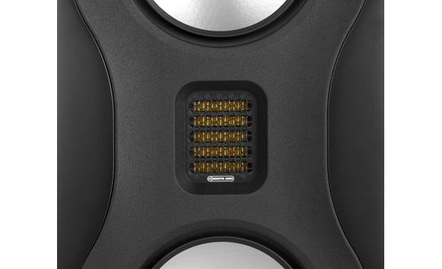 Monitor Audio Studio Close-up view of honeycomb tweeter grille