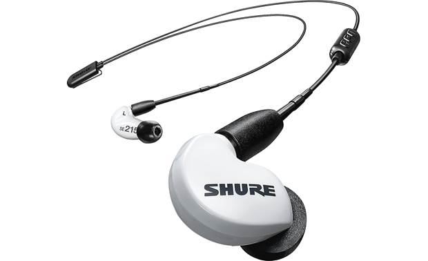 Shure SE215SPE-BT2 Special Edition (with extended bass) Bluetooth 5.0 adapter cable provides a strong wireless connection to your phone