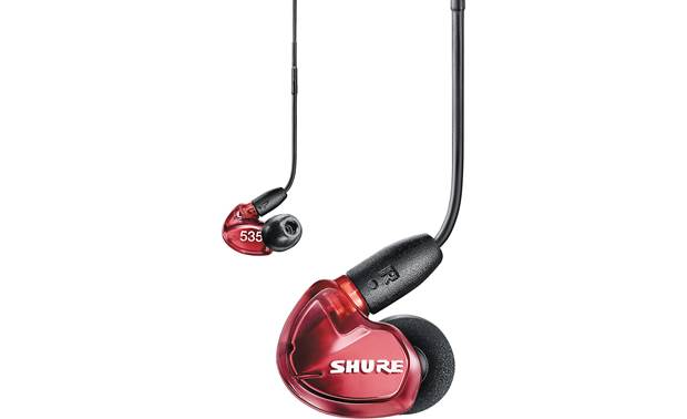 Shure SE535LTD-UNI Special Edition (with enhanced high end) In-ear monitors tuned for the studio, but designed for listening on the go