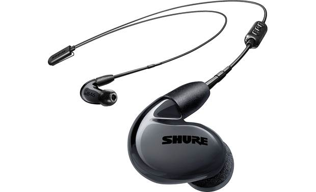 Shure SE846-BT2 Shown with Bluetooth cable attached (two wired cables with a 3.5mm miniplug also included)