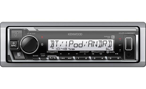 Kenwood KMR-M325BT Front