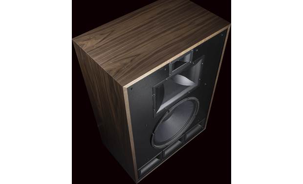 Klipsch Heritage Cornwall IV Angled view with grille removed