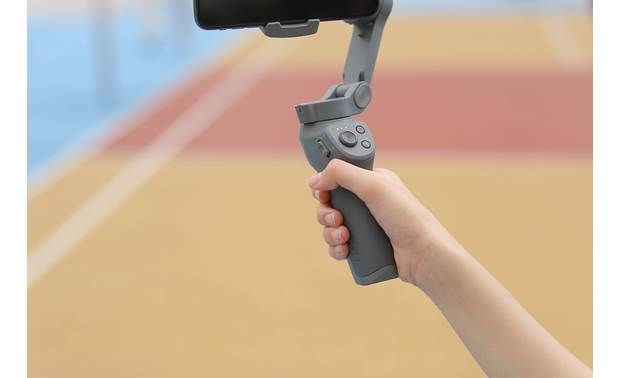 DJI Osmo Mobile 3 ergonomic handle with 15-degree angle