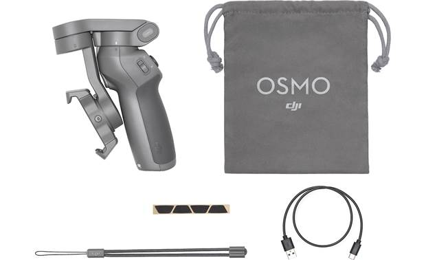 DJI Osmo Mobile 3 Shown with included accessories
