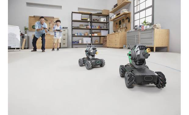 DJI RoboMaster S1 Teach your robot to recognize and react to other S1 robots