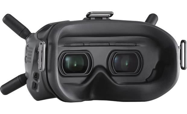 DJI FPV Experience Combo Comfortable fit, even for glasses wearers