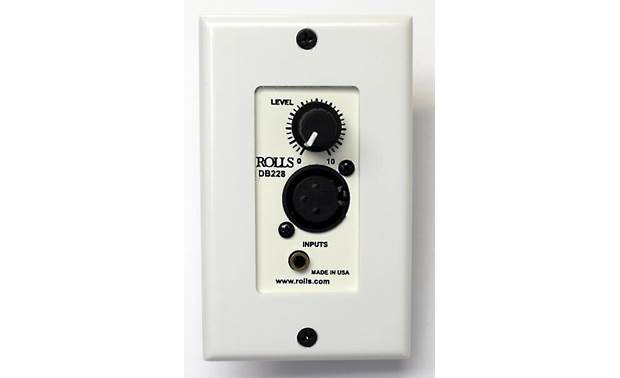 Rolls DB228 Front (Decora wall plate not included)