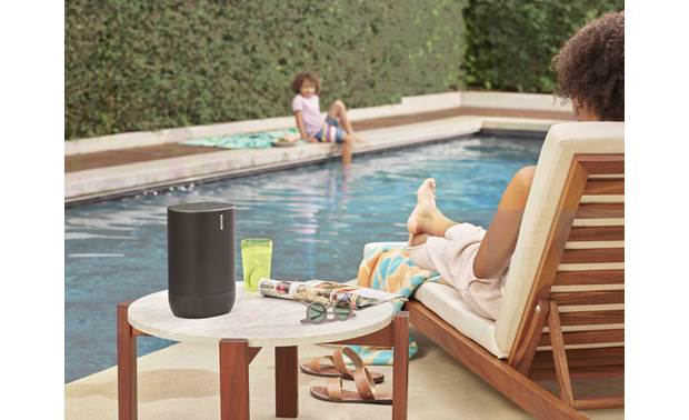Sonos Move Dustproof and moisture-resistant