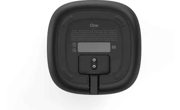Sonos One SL Black - bottom