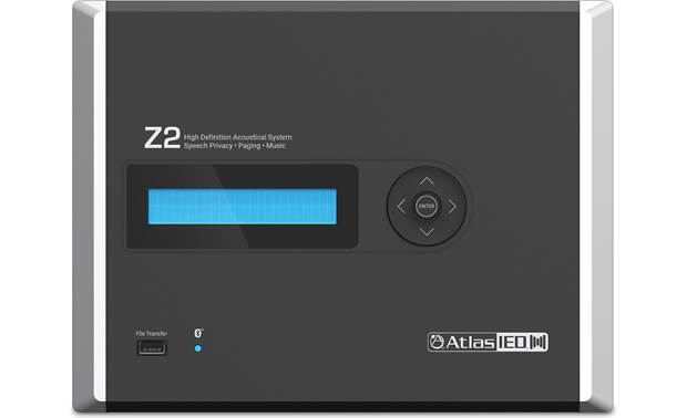 AtlasIED Z-2B Front-panel programming and control capability