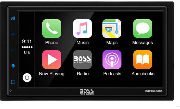 Boss BCPA9685RC Android Auto, Apple CarPlay, and a backup cam