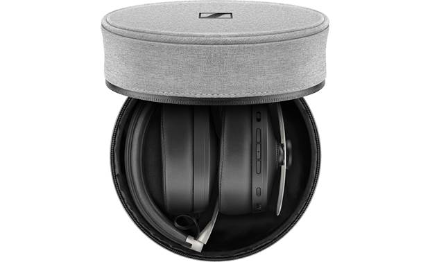 Sennheiser Momentum 3 Wireless Headphones fold up to fit into case
