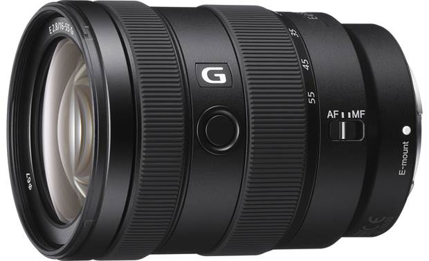 Sony E 16-55mm f/2.8 G Front