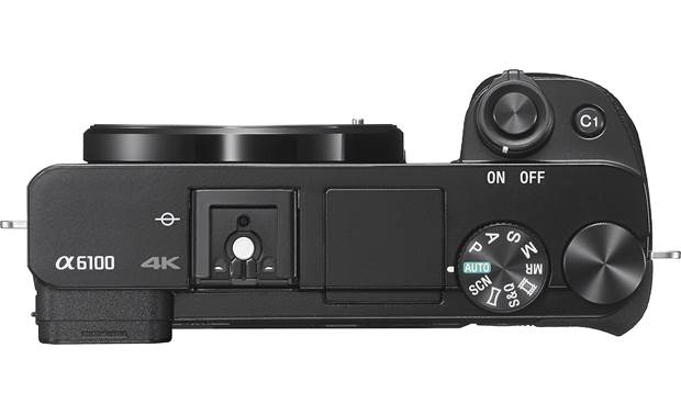 Sony Alpha a6100 Kit Top